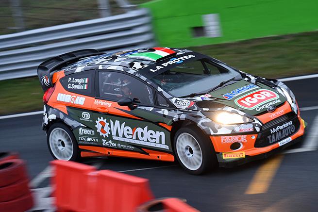 Ford Fiesta WRC Longhi - Santini