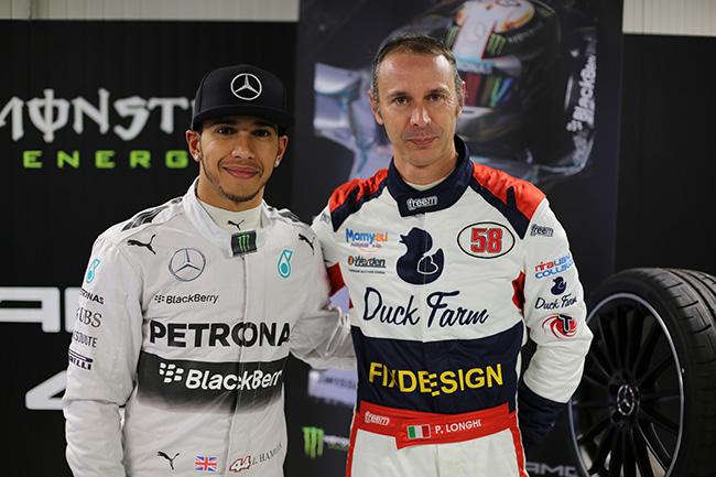 Lewis Hamilton & Piero Longhi